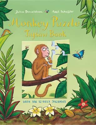 Monkey Puzzle Jigsaw Book by Julia Donaldson