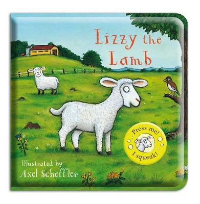 Lizzy the Lamb Bath Book by Axel Scheffler