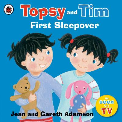 Topsy and Tim: First Sleepover by Jean Adamson