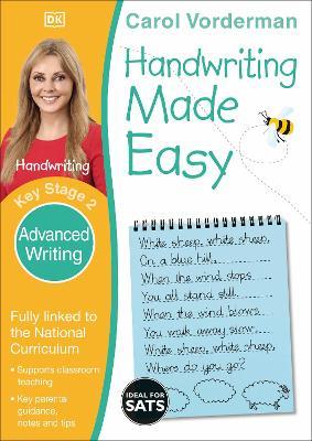 Handwriting Made Easy Advanced Writing by Carol Vorderman