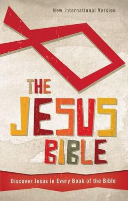 NIV, The Jesus Bible, Hardcover Discover Jesus in Every Book of the Bible by Zonderkidz
