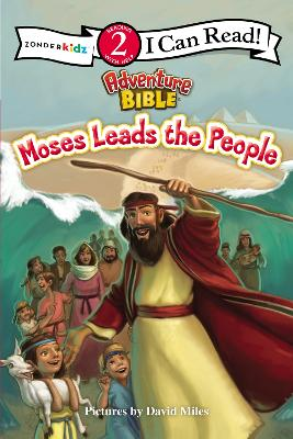 Moses Leads the People by David Miles