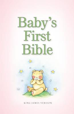 KJV, Baby's First Bible, Hardcover, Pink by Zondervan