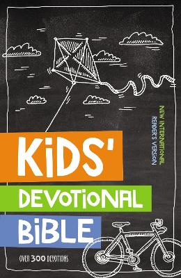 NIrV Kids' Devotional Bible, Hardcover Over 300 Devotions by