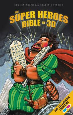 NIrV, The Super Heroes Bible in 3D, Hardcover by Jean E. Syswerda