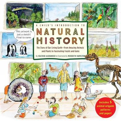 A Child's Introduction to Natural History The Story of Our Living Earth - From Amazing Animals and Plants to Fascinating Fossils and Gems by Heather Alexander, Meredith Hamilton