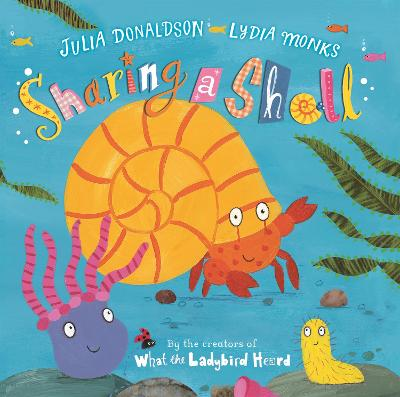Sharing a Shell Big Book by Julia Donaldson