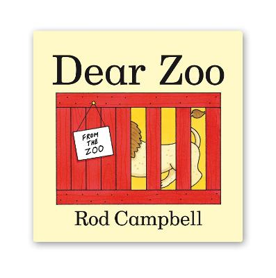 Dear Zoo Big Book by Rod Campbell