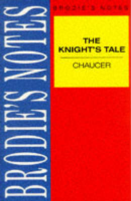 Chaucer: The Knight's Tale by Geoffrey Chaucer, F. W. Robinson