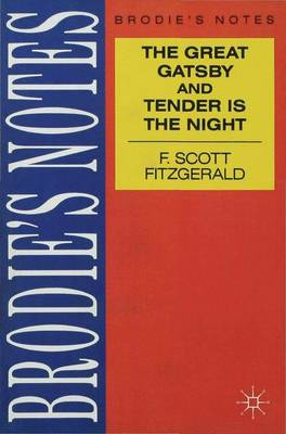 Fitzgerald: The Great Gatsby/Tender is the Night by Scot Fitztgerald