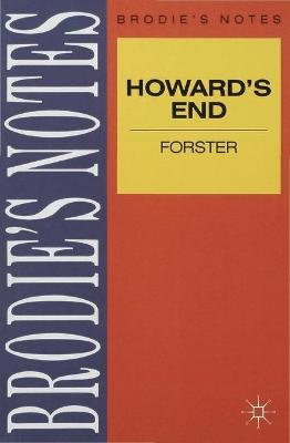 Forster: Howards End by E Forster