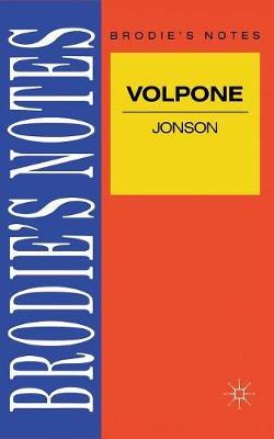Jonson: Volpone by Ray Wilkinson