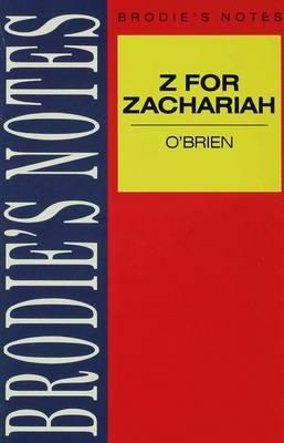 O'Brien: Z for Zachariah by John P. Jenkins