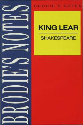 Shakespeare: King Lear by Norman T. Carrington