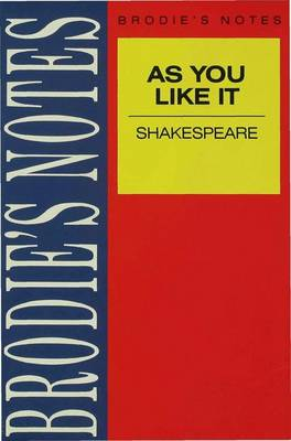 Shakespeare: As You Like It by W. Eastwood