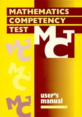 Mathematics Competency Test Manual by Philip E. Vernon, F. J. Izard, Ken Miller