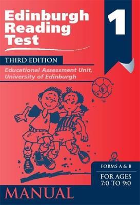 Edinburgh Reading Test (ERT) 1 Manual A Series of Diagnostic Teaching AIDS by Educational Assessment Unit University of Edinburgh