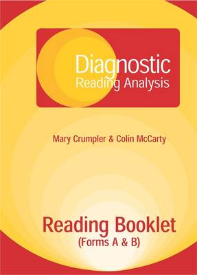Diagnostic Reading Analysis (DRA) Reading Booklet by Mary Crumpler, Colin McCarty
