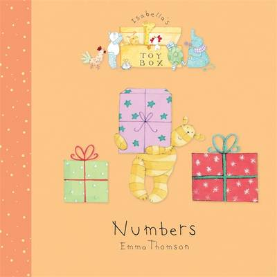 Isabella's Toybox: Numbers Board Book by Emma Thomson