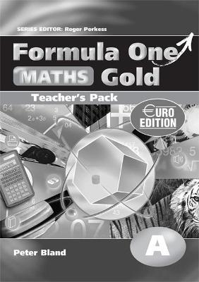 Formula One Maths Euro Edition Gold Teacher's Pack A by