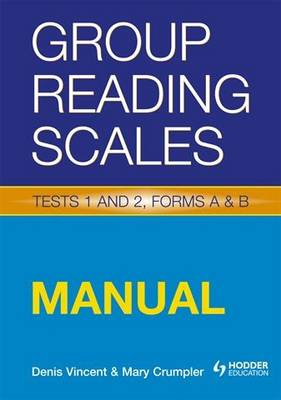 Group Reading Scales Specimen Set Specimen Set by Denis Vincent, Mary Crumpler