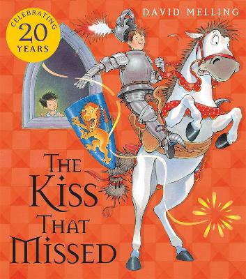 The Kiss That Missed Board Book by David Melling