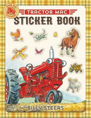 Tractor Mac Sticker Book by Billy Steers