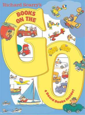Richard Scarry's Books on the Go by Richard Scarry