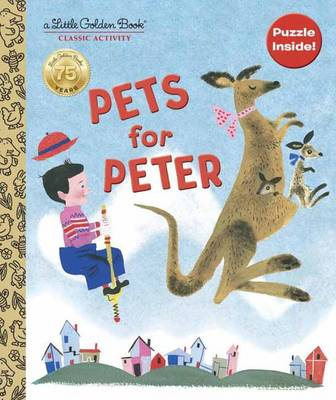 Pets for Peter Book and Puzzle by Jane Werner Watson, Aurelius Battaglia