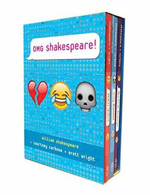 OMG Shakespeare Boxed Set by Courtney Carbone