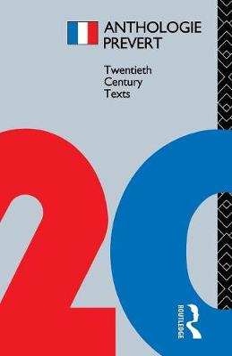 Anthologie Prevert by Jacques Prevert