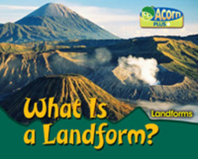 What is a Landform? by Rebecca Rissman