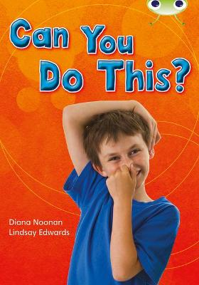 BC NF Turquoise B/1A Can You Do This? by Diana Noonan