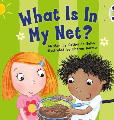 BC Pink B What is in my Net? by Catherine Baker