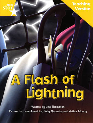Fantastic Forest Yellow Level Fiction: A Flash of Lightning Teaching Version by Catherine Baker