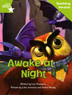 Fantastic Forest Green Level Fiction: Awake at Night Teaching Version by Catherine Baker