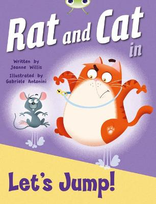 BC Red C (KS1) Rat and Cat in Let's Jump by Jeanne Willis