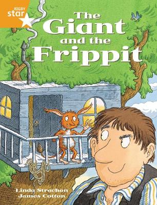 Rigby Star Guided 2 Orange Level, The Giant and the Frippit Pupil Book (single) by Alison Hawes