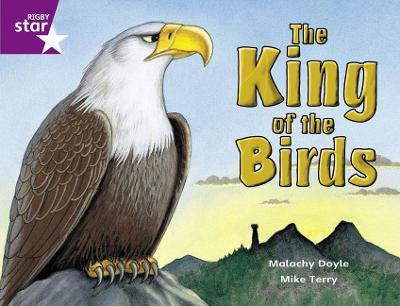 Rigby Star Guided 2 Purple Level: The King of the Birds Pupil Book (single) by