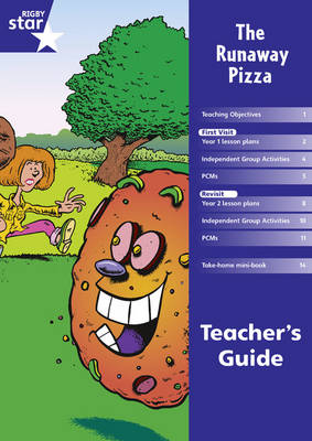 Rigby Star Shared Year 1 Fiction: Runaway Pizza Teachers Guide by