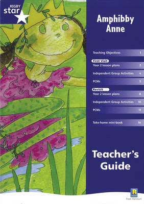 Rigby Star Shared Year 2 Fiction: Amphibby Anne Teachers Guide by