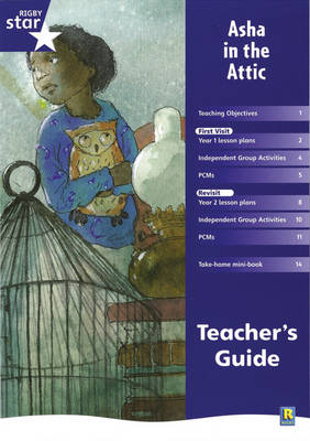 Rigby Star Shared Year 2 Fiction: Asha in the Attic Teachers Guide by