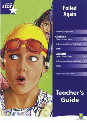 Rigby Star Shared Year 2 Fiction: Foiled Again Teachers Guide by