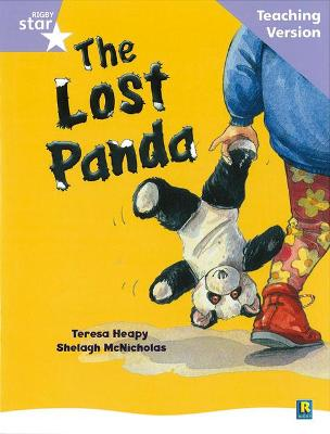 Rigby Star Guided Reading Lilac Level: The Lost Panda Teaching Version by