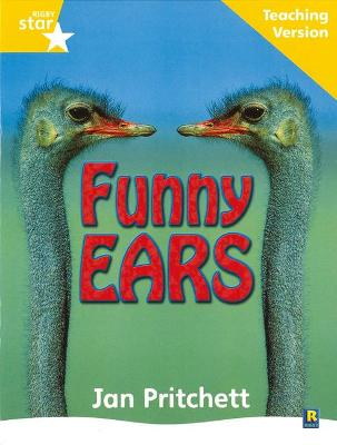 Rigby Star Non-fiction Guided Reading Yellow Level: Funny Ears Teaching Version by