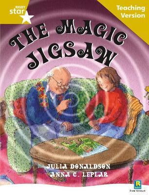 Rigby Star Guided Reading Gold Level: The Magic Jigsaw Teaching Version by