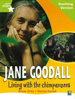Rigby Star Guided Lime Level: Jane Goodall Teaching Version by