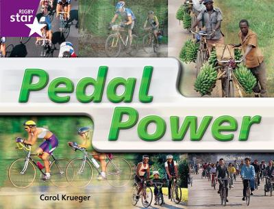 Rigby Star Guided Quest Year 2 Purple Level: Pedal Power Reader Single by