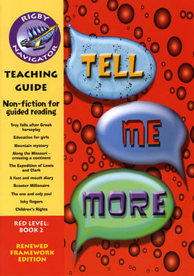 Navigator FWK: Tell Me More Teaching Guide by