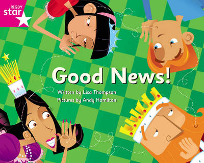 Clinker Castle Pink Level Fiction: Good News! Single by Lisa Thompson, Katy Pike